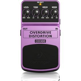 Pedal Guitarra Behringer Overdrive / Distortion Od300 Nuevo
