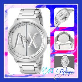 Relogio Armani Exchange Prata E Masculino - Relógios De Pulso no ... 6f8251b8cd