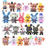 Lote 24 Figuras De Five Nights At Freddy