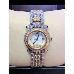 823616d53ce Relógio Chopard Ouro E Brilhantes - Relógios De Pulso no Mercado ...