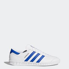 promo code a9245 55fe5 Tenis adidas Hamburg Blanco Hombre By9758 Look Trendy