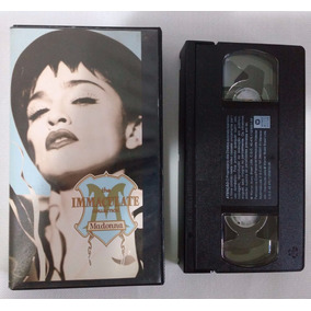 Madonna The Immaculate Collection - Vhs Warner Music 1990