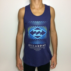 Regata Billabong - Camisetas Regatas para Masculino no Mercado Livre ... 716b37d9797