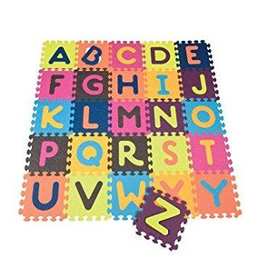 5210 Tapete Cuadros Alfabeto