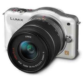 Panasonic Lumix Dmc-gf3 Con Lente 14-42mm-blanco