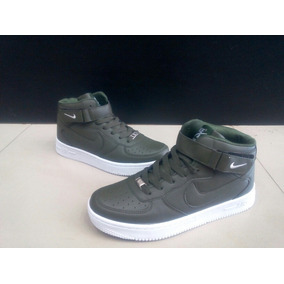 outlet store 066c2 ec5d0 Botas Nike Air Force One Verdes Para Caballero 40 A 45