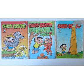 Chico Bento Nºs 9 Ao 96 Ed. Globo Preço Para 9 Gibis