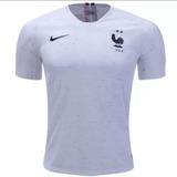 Camisa Nova França Branca 2018/2019 - Envio Imediato.