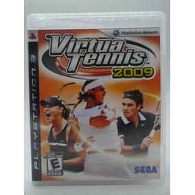 Virtua Tennis 2009 Play Station 3 Original Mídia Física
