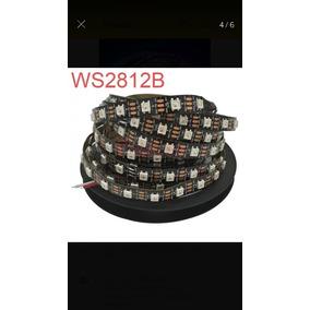Fita Ws2812b Leds Enderecaveis Ip65 Com Silicone (8 Unidades