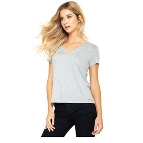 Camisetas Femininas Calvin Klein - Calçados, Roupas e Bolsas no ... 162ae3ff08