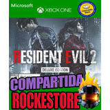 Resident Evil 2 Remake Deluxe Xbox One Online Y Offline