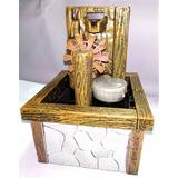 Fuente Decorativa Interior Modelo Ruleta Rústica