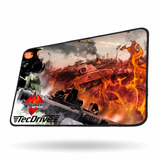 Mouse Pad Gamer Tecdrive Xfire Battle Strike Speed