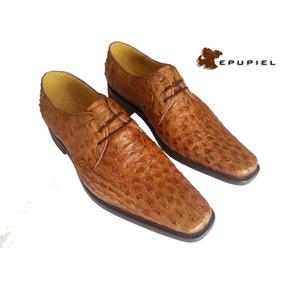 Zapato Fino De Vestir Color Paja