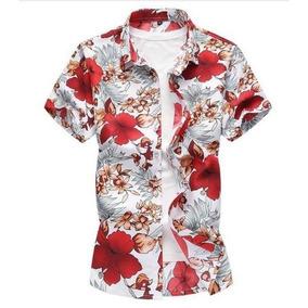 Camisas Masculina Floral Verão Importada Frete Grátis