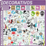 Pack Vectores Vinilos Decorativos Viniles Plotter Paredes