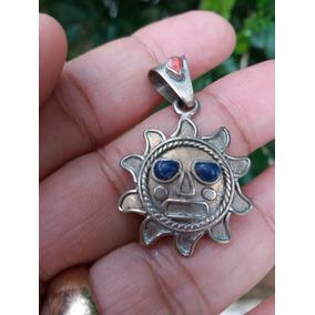 Pingente Sol Lápis Lazuli Rata 925