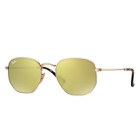 Oculos Rayban Hexagonal Amarelo - Óculos no Mercado Livre Brasil a20ccb7ca8