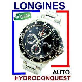 Longines Hydroconquest Cronógrafo Auto Black L3.644.4