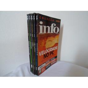 Revista Coleção Info Exame Lote Com 6 Edições Anos 2005/2006