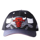 Gorra adidas Chicago Bulls Negra Gris U Original