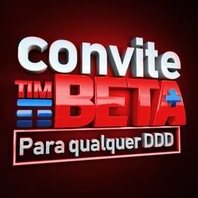 Convite Ou Migração Tim-beta 10gb + 600minutos Suporte Total