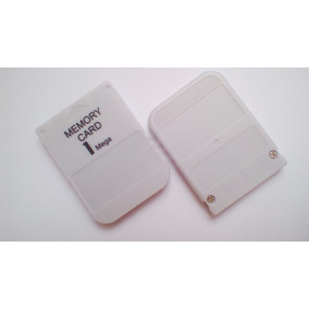 Kit 2 Memory Card Psone Playstation 1