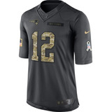 Camisa Futebol Americano Nfl Salute To Service Brady Brees