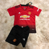 Conjunto Infantil Do Manchester United 2018 - Super Desconto cbd3c4add13ca