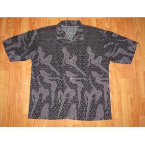 Camisa Moda Urbana Estampado Pin Up Talla Xl