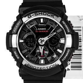 Relógio Casio Ga-200-1adr Masculino Anadigi Estado De Novo
