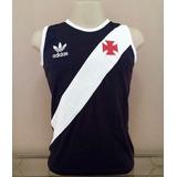 Camisa Retro Vasco 84 Pta Regata P R O N T A . E N T R E G A fbe6f835f6909