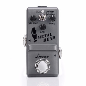 Micro Pedal Distorção High Gain Donner Metal Head Novo