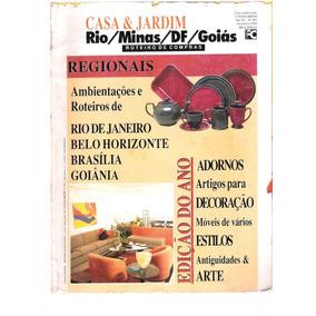 Revista Casa E Jardim Rio / Minas / Df / Goiás Ano 43 Nº 493
