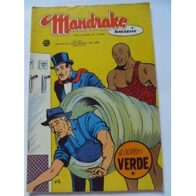 Mandrake Magazine Nº33 Agosto Setembro 1958 Ebal Excelente