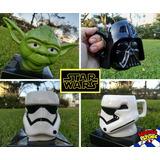 Envio Gratis Tazas De Star Wars Yoda / Darth Vader / Trooper