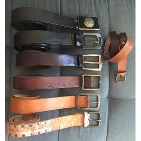 Lote Cinturones De Cuero Talle 90 Ona Saez Prototype Hombre 55225bcb1d16