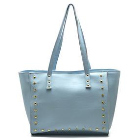 653607a99 Bolsa Couro Azul Marinho E Dourado Inspirado Balenciaga - Bolsas no ...