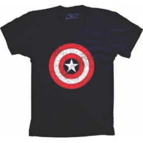 Capitão America Camisa, Temos Em Todos Os Tamanhos