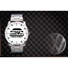 Relógio De Pulso Personalizado Logo Vw Polo Clube Br. R  84 90 de618ebdea604