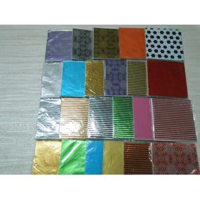 Papel Aluminio Chumbo 9 X 9 X 40unidades