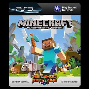 Minecraft Ps3 Playstation3 Psn Conteúdo Digital Envio Já