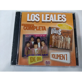 Cd Los Leales Discografia Completa Vol 1 Open Music M-