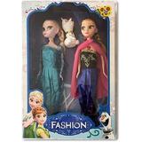 Set Muñecas Frozen Elsa Y Anna + Regalo Nuevo Envio Gratis