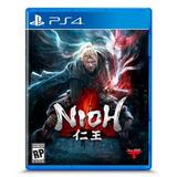 Videojuego Ps4 Nioh Marca Sony Playstation Juego H.c