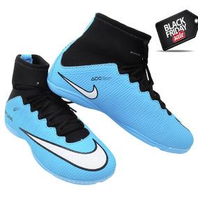 cb890b1f0d921 Chuteira Cr7 Futsal Cano Alto Tamanho 36 - Chuteiras Azul celeste no ...