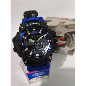 c9a0368848fa Casio G Shock Supervivencia Reloj Tactico All Blue