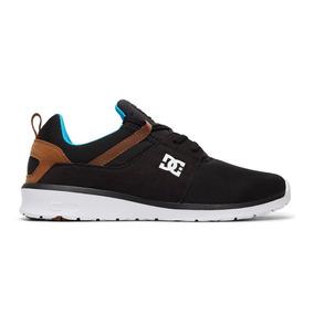 Tenis Hombre Heathrow Adys700071 Bqw Dc Shoes Negro