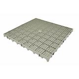 Piso Estrado Plástico Cinza 50x50